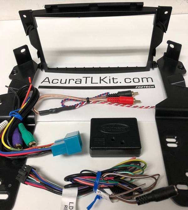 ACURA TL DOUBLE DIN DASH KIT - 2005 acura tl dash kit